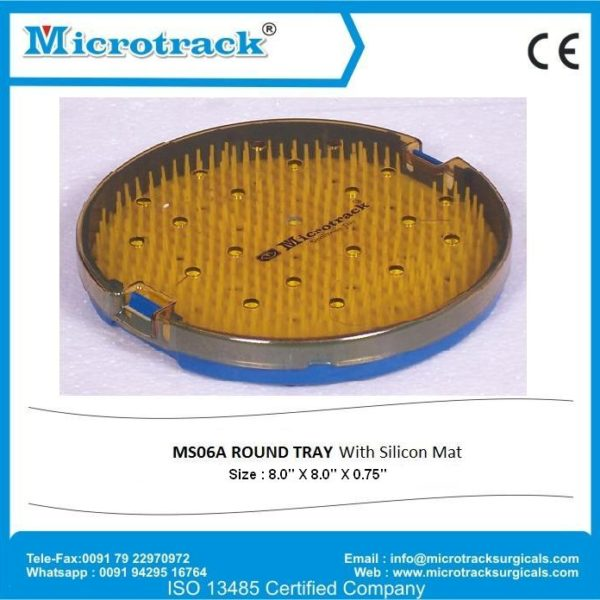 6A Round Tray with Mat